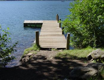 pier to donner lake
