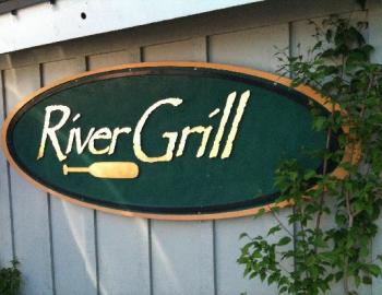 River Grill sign