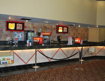 concession stand at cinema