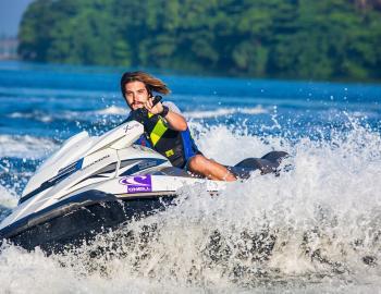 guy on jet ski