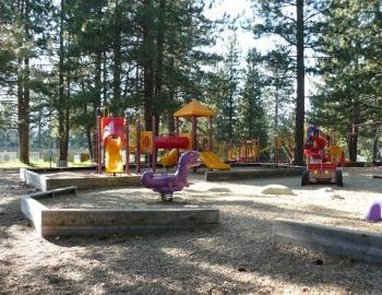 playground for children at the park