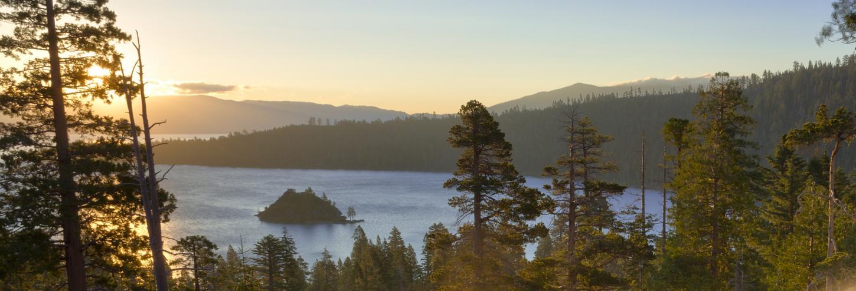 view of emerald bay tea island