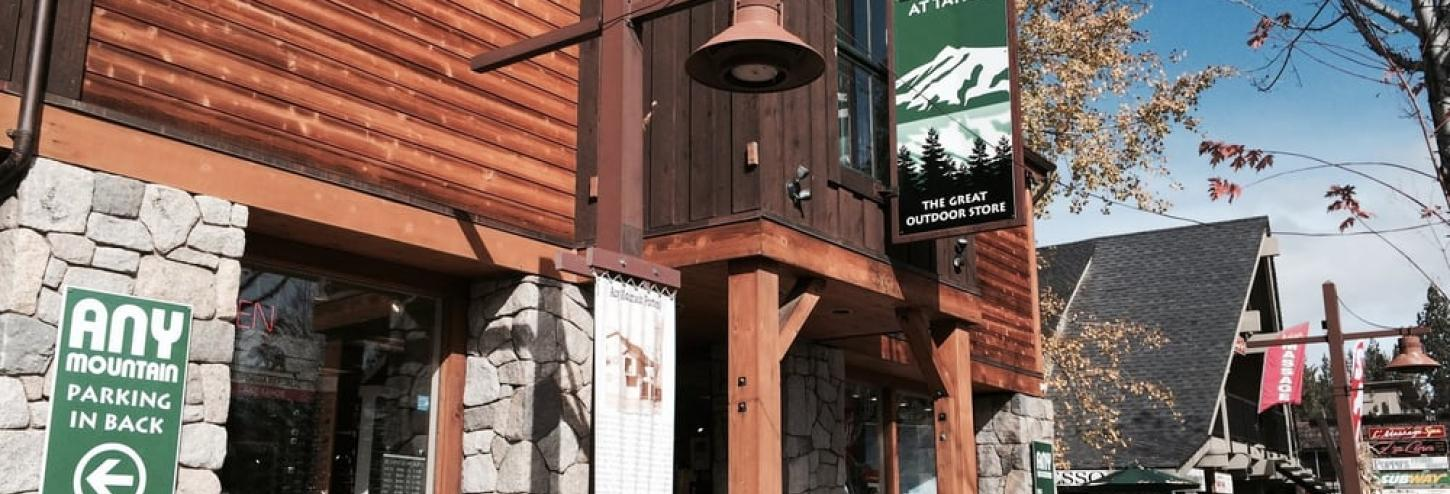 front of store front of Any mountain