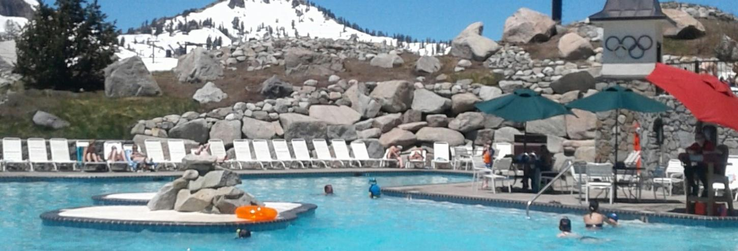 swimming pool at the top of the mountain
