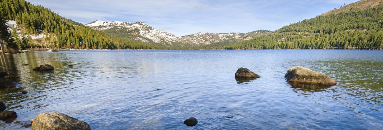 calm donner lake